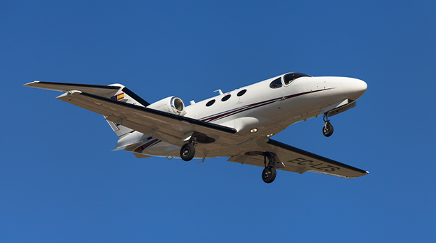 Private jet Citation Mustang